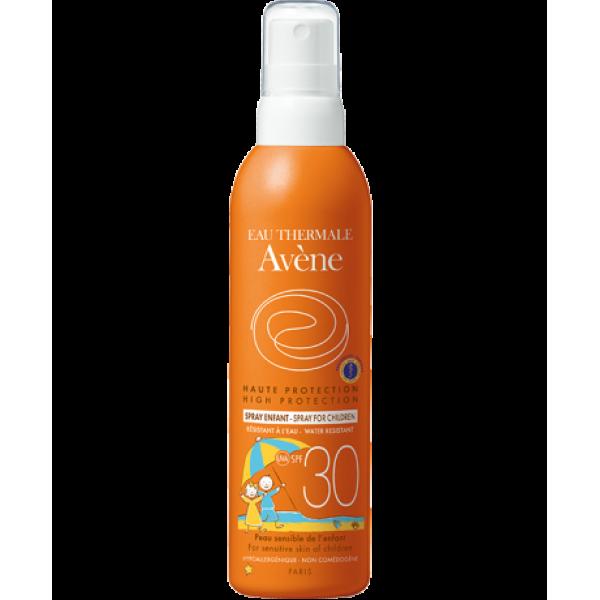 Eau Thermale Avene Spray Corpo Bambini SPF 30 Protezione Solare Alta 200 ml