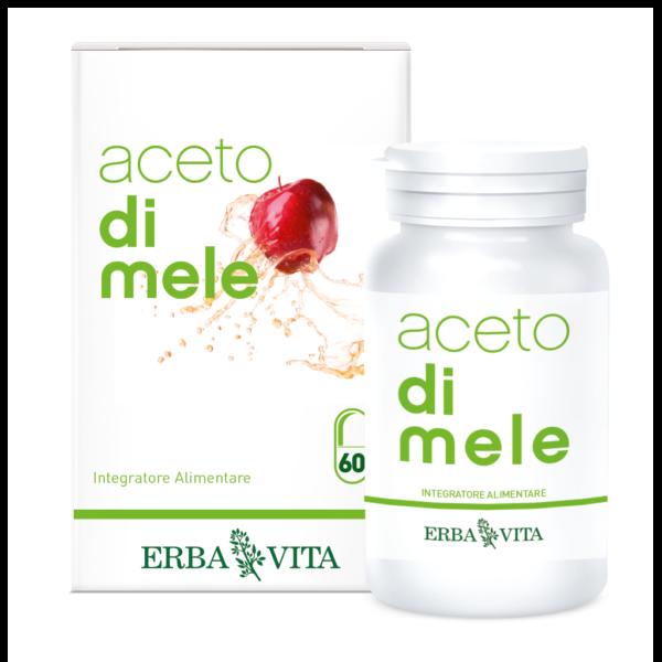 ACETO di Mele 60 Capsule 550 mg ErbaVita