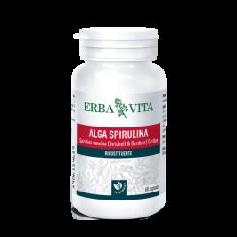 ALGA SPIRULINA 60 Capsule 450 mg ErbaVita
