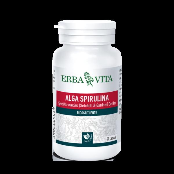 ALGA SPIRULINA 60 Capsule 450 mg ErbaVit...
