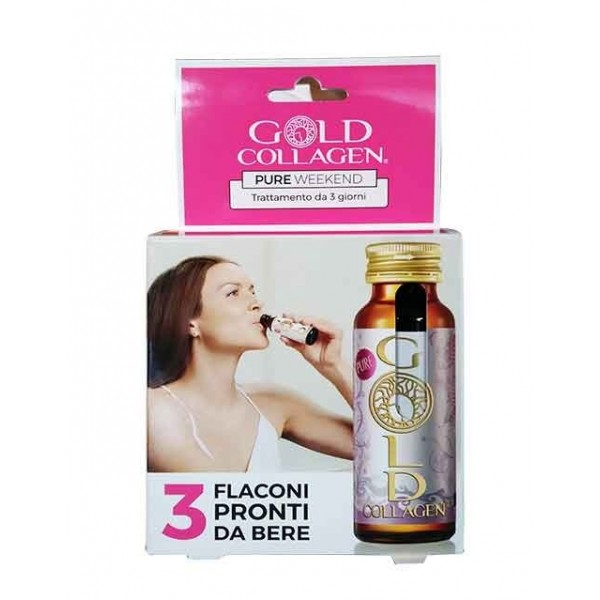 Gold Collagen Pure Weekend 3 Flaconcini