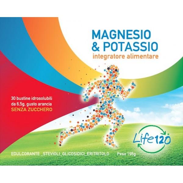 LIFE 120 Magnesio e Potassio 30 Bustine