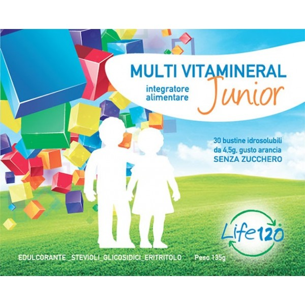 LIFE 120 Multivitamineral Junior 30 Bust...