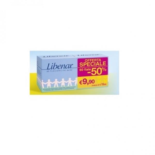 Libenar 60 flaconcini monodose soluzione fisiologica 5ml