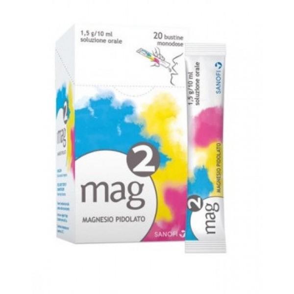 Mag 2 Soluzione in Stick 20 Bustine 10 m...