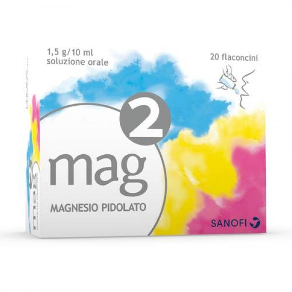 Mag 2 Sospensione Orale 20 flaconcini 10...