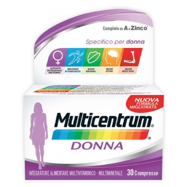 Multicentrum Donna 30 compresse Nuova Fo...