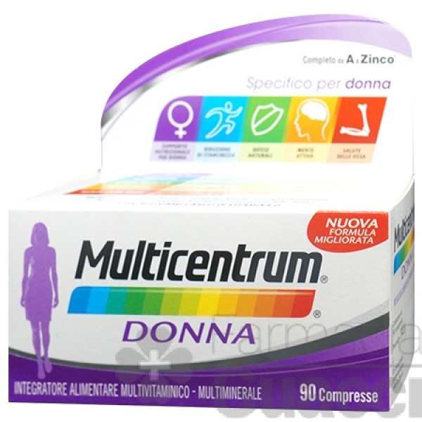 Multicentrum Donna 90 compresse Nuova Fo...