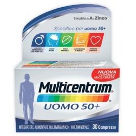 Multicentrum Uomo 50+ 30 compresse Nuova Formula