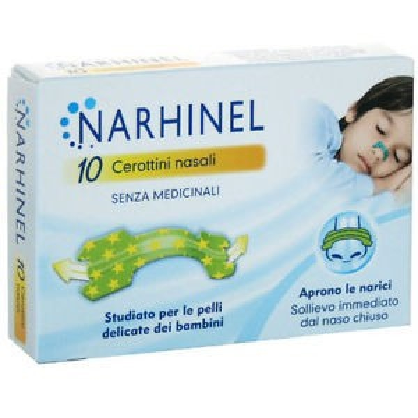 NARHINEL Cerottini Nasali per Bambini 10...