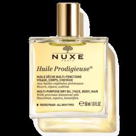 Nuxe Huile Prodigieuse - Olio Prodigioso Secco Multifunzione per Viso Corpo e Capelli - 50 ml