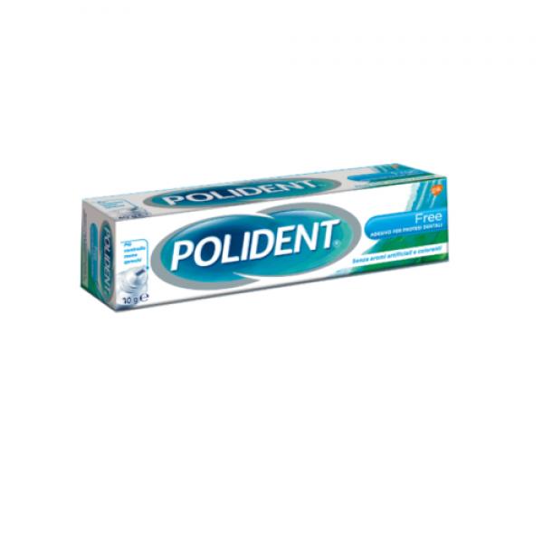 Polident Free Adesivo per Dentiere Ipoallergenico 70 g