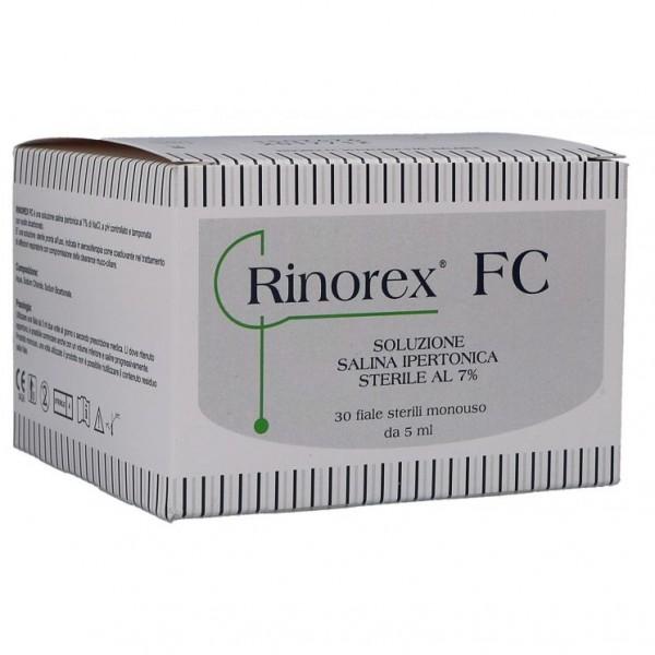RINOREX FC 30 Flaconcini Soluzione Ipert...