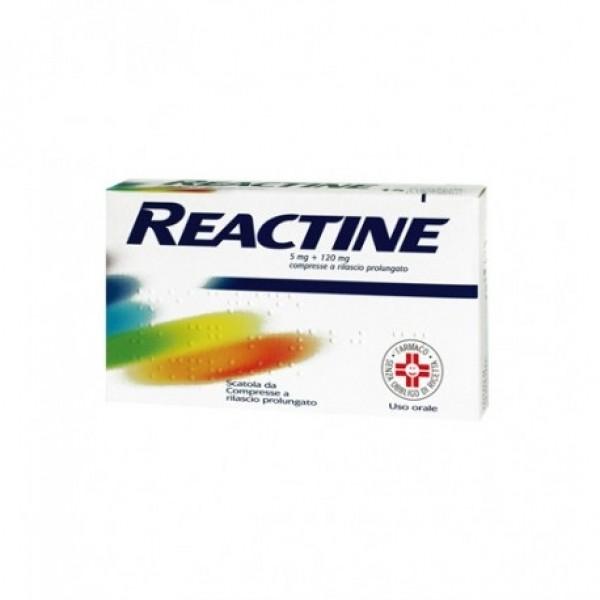 Reactine 6 compresse 5mg+120mg Rilascio ...
