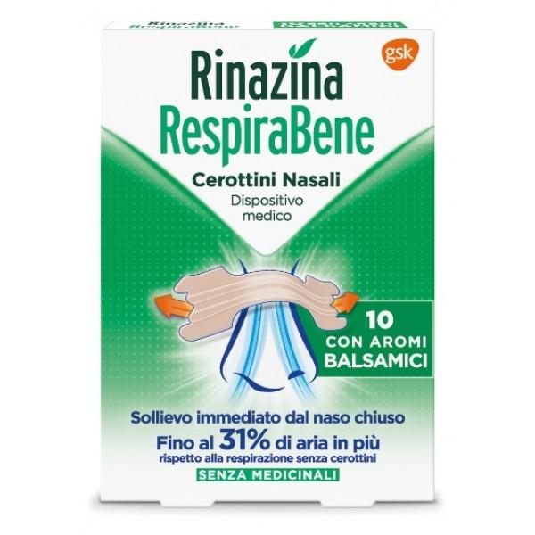 Rinazina Respirabene Cerotto Nasale Bals...