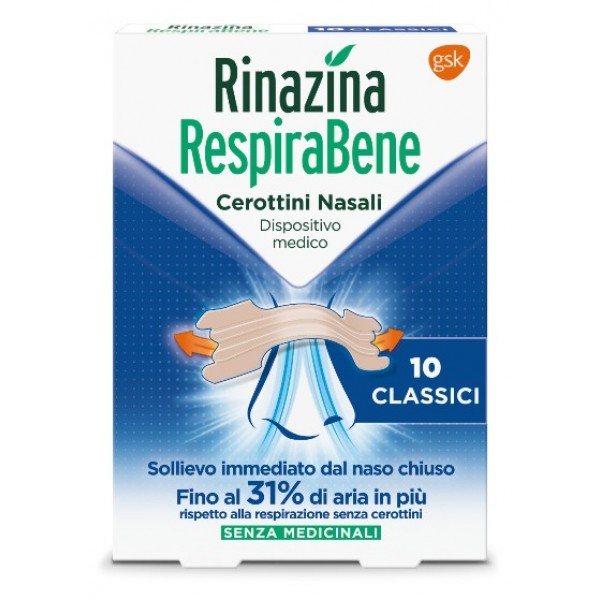 Rinazina Respirabene Cerotto Nasale Clas...