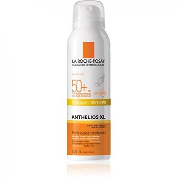 Anthelios XL Spray Corpo Invisibile Ultra-Leggero SPF 50+ Protezione Solare Molto Alta 200 ml