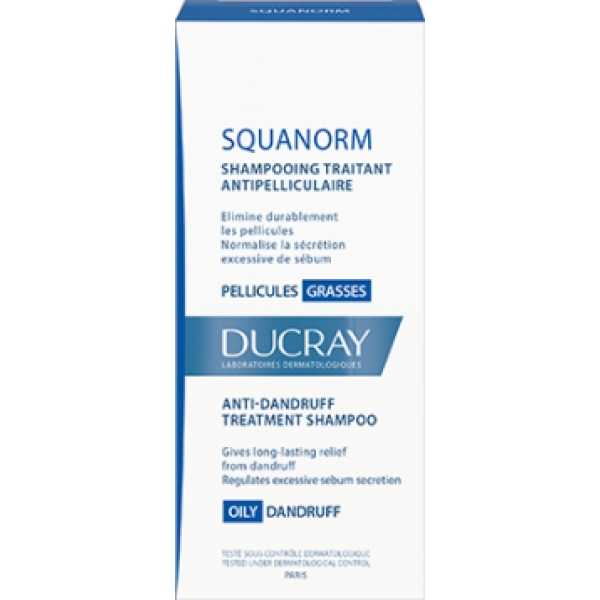 Squanorm Shampoo Antiforfora Grassa 200 ml