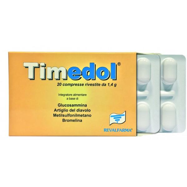 Timedol - Integratore alimentare per il benessere delle articolazioni - 20 compresse