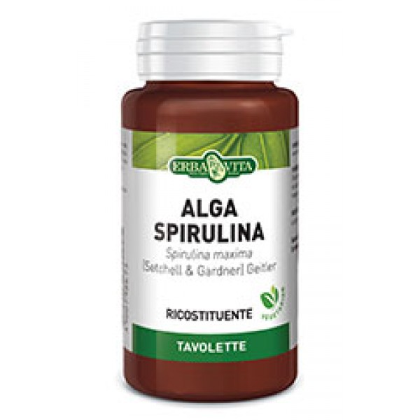 ALGA SPIRULINA 125 Tavolette 400 mg Erba...