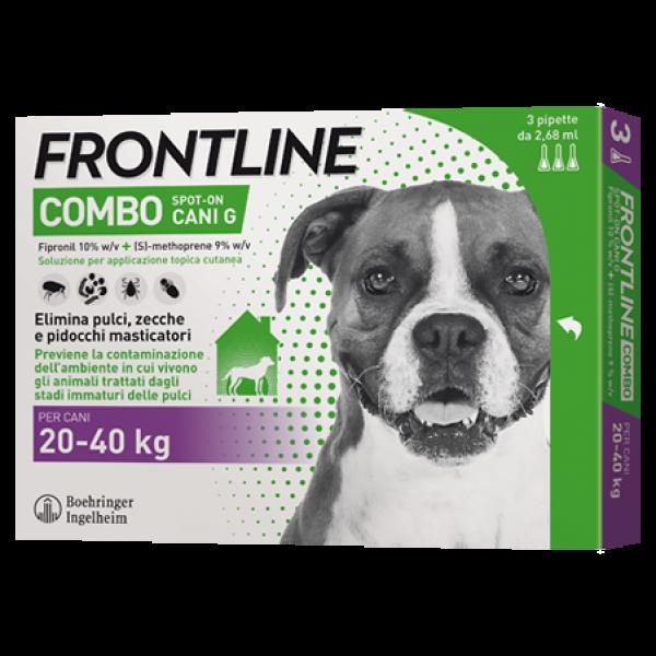 Frontline Combo Cani da 20 a 40 Kg - Pip...