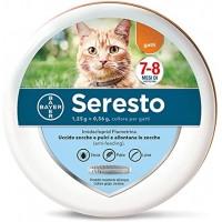 Seresto Collare Antiparassitario per Gatti - Contro pulci, zecche e pappataci