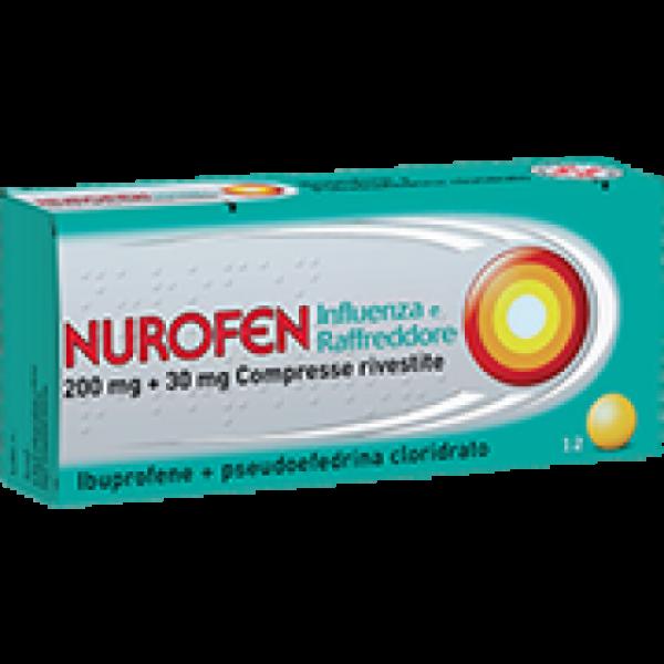 Nurofen Influenza e Raffreddore 200mg+30...