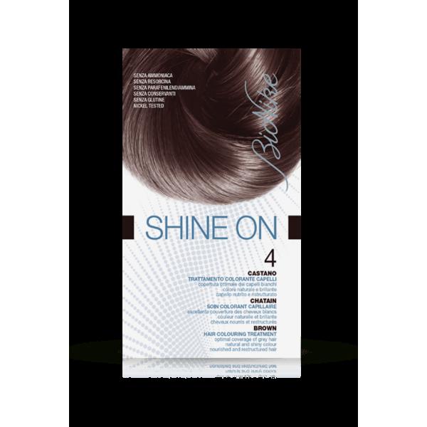 Shine On Tintura Capelli Colore Castano 4