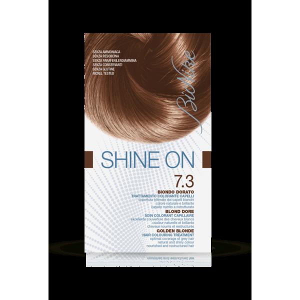 Shine On Tintura Capelli Colore Biondo Dorato 7.3