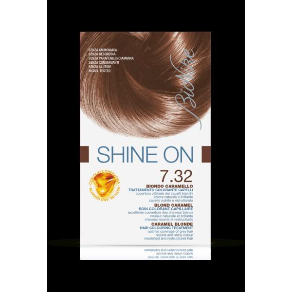 Shine On Tintura Capelli Colore Biondo Caramello 7.32