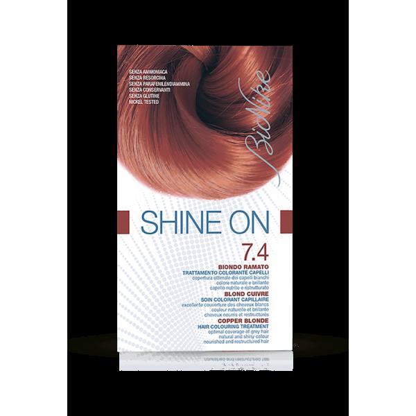 Shine On Tintura Capelli Colore Biondo Ramato 7.4