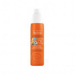 Eau Thermale Avene Spray Corpo Bambini SPF 50+ Protezione Solare Molto Alta 200 ml