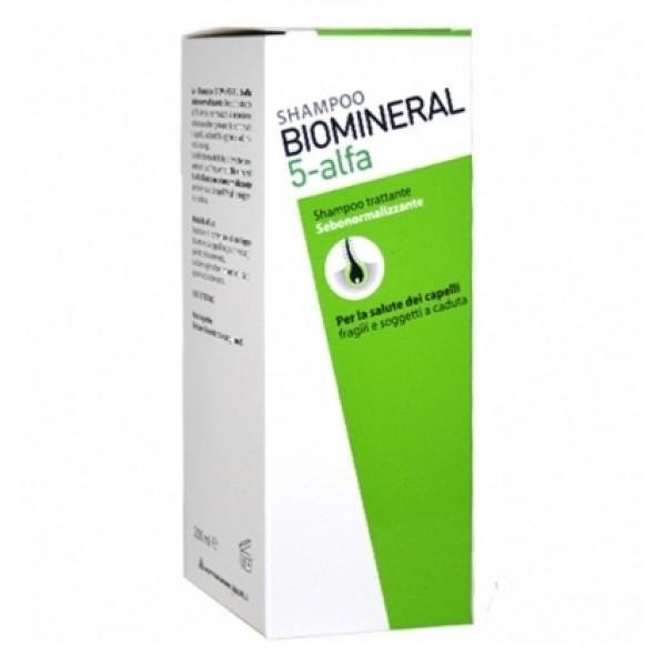 Biomineral 5 Alfa Shampoo 200 ml