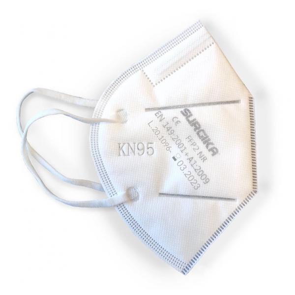 Mascherina Protettiva KN95 FFP2 Surgika - Confezione da 5 mascherine - Dispositivo di protezione individuale DPI