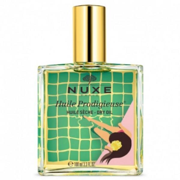 Nuxe Huile Prodigieuse Limited Edition 2020 - Olio secco multifunzione per viso, corpo e capelli - Giallo - 100 ml