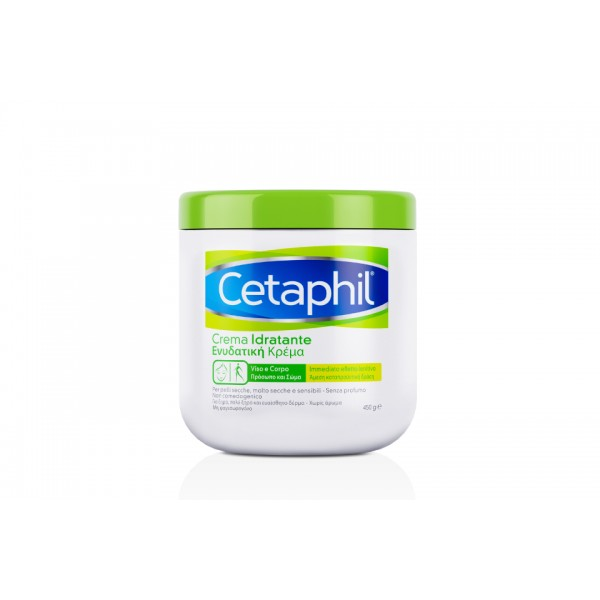 Cetaphil Crema Idratante - Per pelle secca, molto secca e sensibile - 450 g - Promo