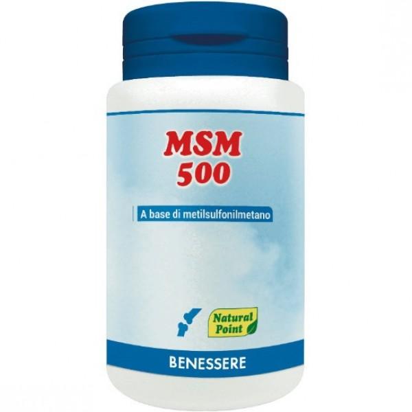 MSM 500 100 Capsule Vegetali