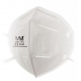 Mascherina Protettiva FFP2 Munus Medical - Dispositivo di protezione individuale DPI - Confezione da 25 pezzi