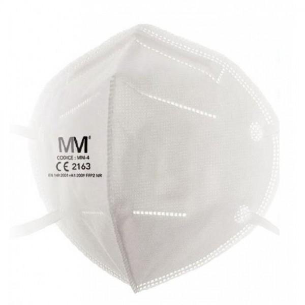 Mascherina Protettiva FFP2 - Confezione da 25 pezzi - Certificata Dispositivo di Protezione Individuale DPI