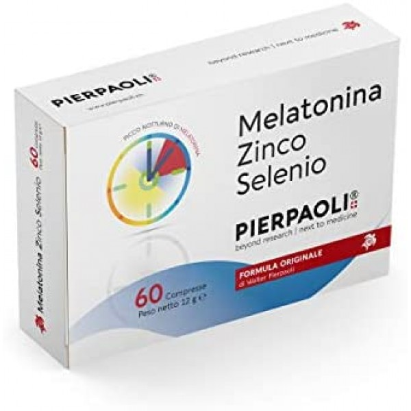 Melatonina Zinco Selenio 60 Compresse Dr. Pierpaoli