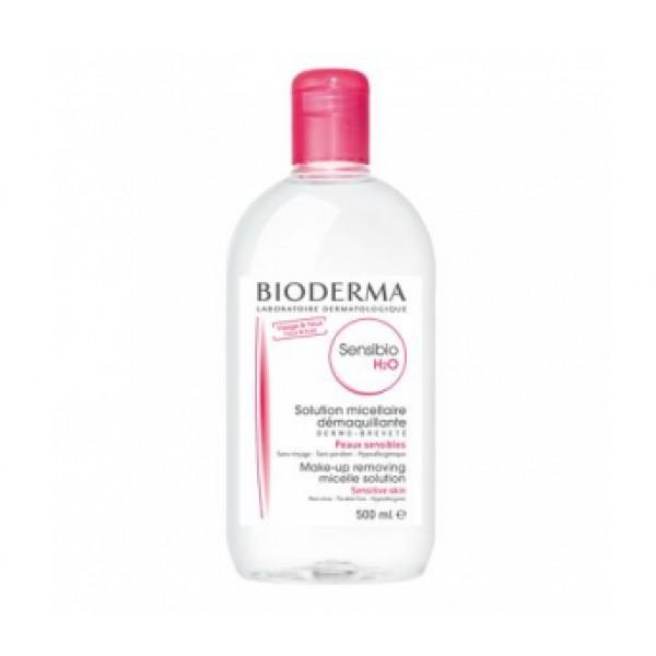 Sensibio H2O Acqua Micellare Detergente e Struccante - Adatta per pelli sensibili - 500 ml