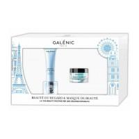 Galenic Cofanetto Beauté du Regard - Crema contorno occhi cryo-booster 15 ml + Maschera idratante equilibrante 15 ml