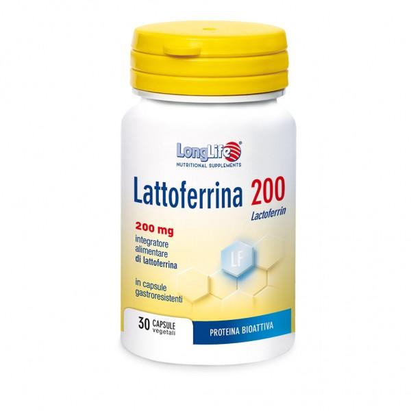 Lattoferrina 200 Longlife 30 Capsule