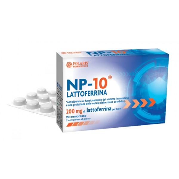 NP-10 Lattoferrina 200 mg 20 Compresse