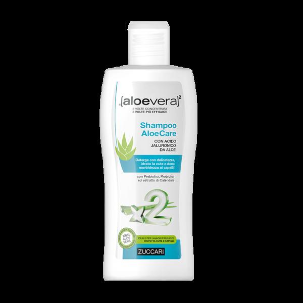 Aloevera 2 Shampoo AloeCare - Ideale per...