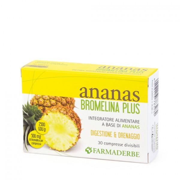 Ananas Bromelina Plus - Integratore dren...
