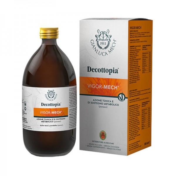 Decottopia - Vigor-Mech - Integratore tonico per stanchezza fisica e mentale - 500 ml
