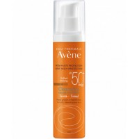 Eau Thermale Avene Cleanance Solare Colorato SPF 50+ - Protezione solare molto alta per viso e collo - 50 ml