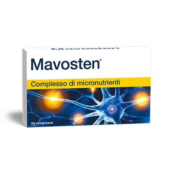 Mavosten - Integratore per il benessere del sistema nervoso - 60 compresse