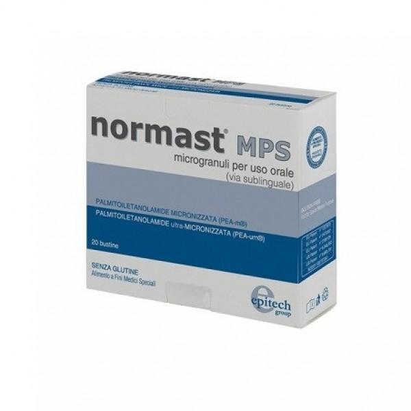 Normast MPS - Integratore per disturbi neuroinfiammatori - Microgranuli - 20 bustine sublinguali